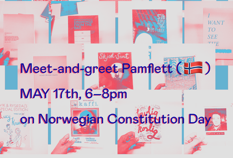 Meet-and-greet Pamflett (NO) and celebrate Norwegian Constitution Day