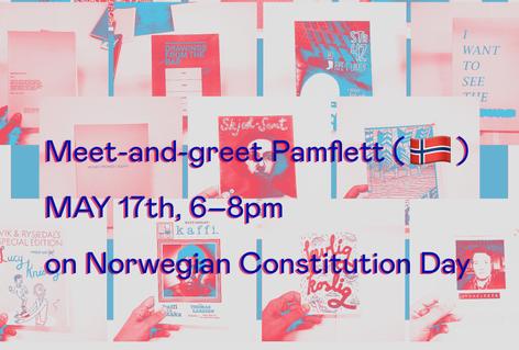 Meet-and-greet Pamflett (NO) and celebrate Norwegian Constitution Day