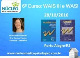 WAIS III e WASI - Escala Wechsler de Inteligência
