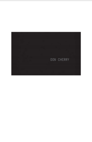 Don Cherry Discography 1958-1994