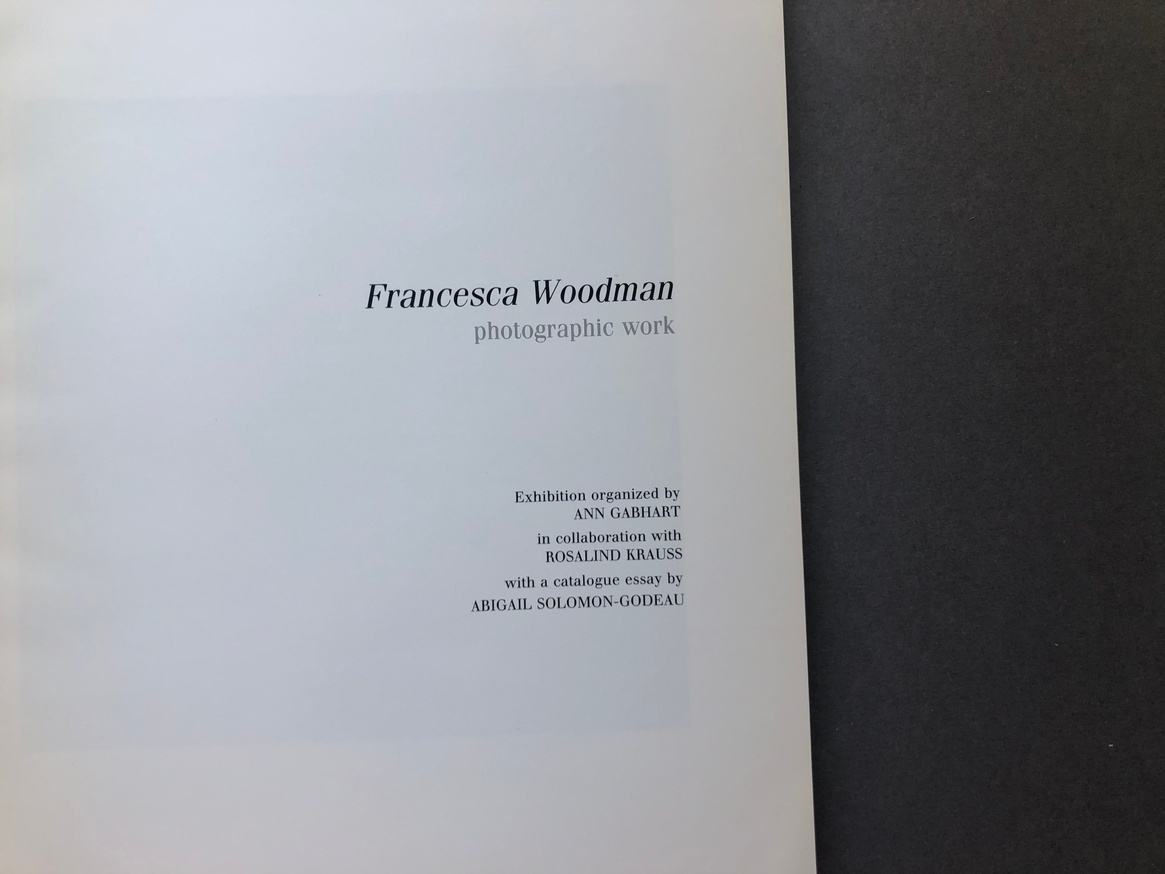 Francesca Woodman: Photographic Work thumbnail 3