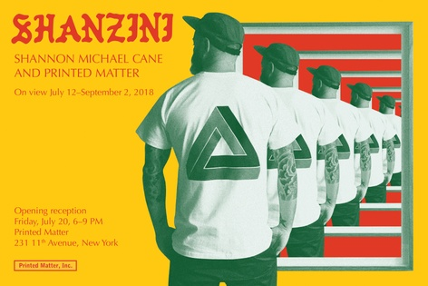 SHANZINI : SHANNON MICHAEL CANE AND PRINTED MATTER
