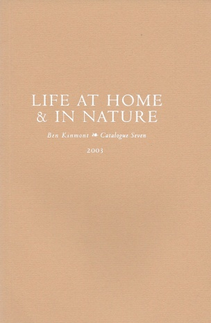 Life at Home & In Nature, Catalogue 7 : A Catalogue of Books and Manuscripts on Domestic and Rural Affairs, Cookery, Gardening, and Health 1540-1911