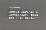 Rudolf Baranik's Dictionary from the 24th Century