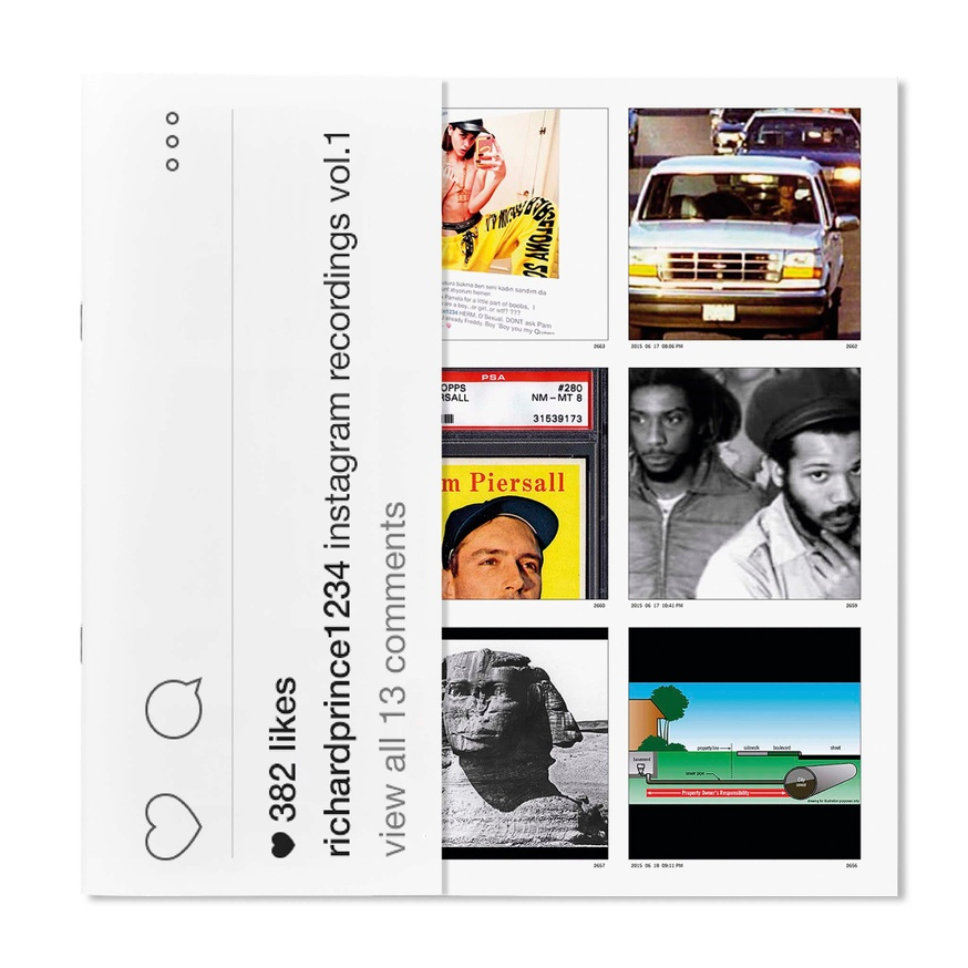 Richard Prince 1234: Instagram Recordings, Vol.1 thumbnail 2