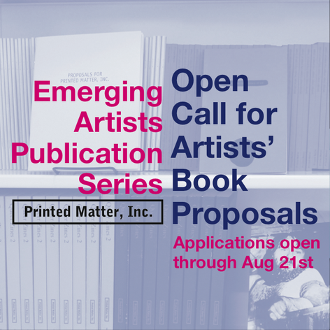 Emerging Artists Publication Series  / Call for submissions