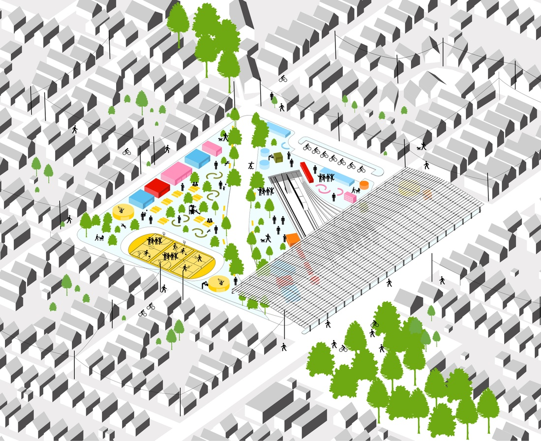 Overview of sample neighborhood design.