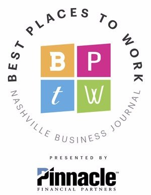 Best Places to Work presented by Pinnacle Financial Partners