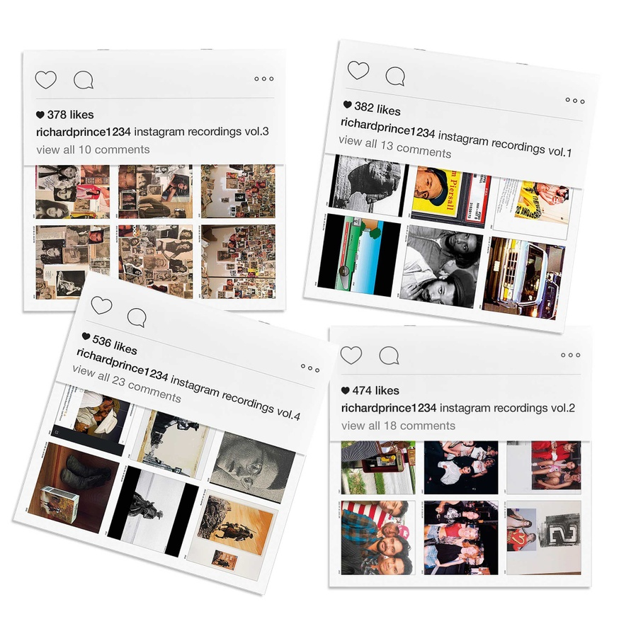 Richard Prince 1234: Instagram Recordings Complete Set, Vols. 1-12 thumbnail 4