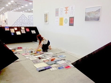 Printed Matter at Frieze and NADA this weekend