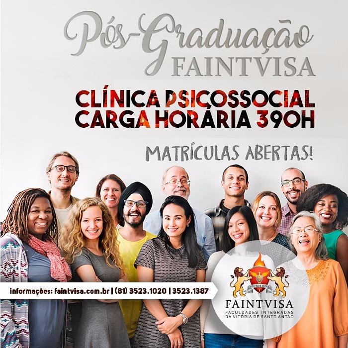 Pós- graduação em Clínica Psicossocial