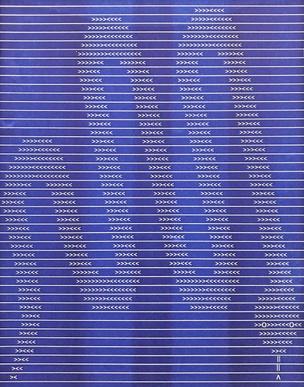 Blue Snake Print