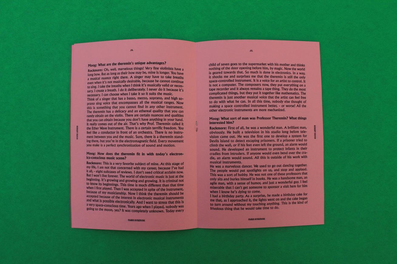 Clara Rockmore by Robert Moog thumbnail 4