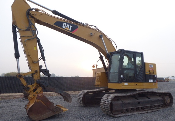 Used 2011 Caterpillar 328D LCR For Sale