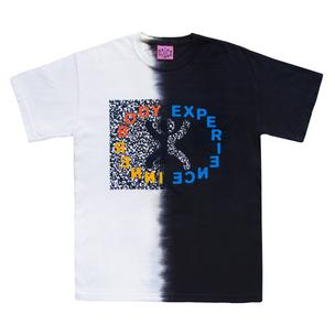 Inner Body T-Shirt (Black and White) [Medium]