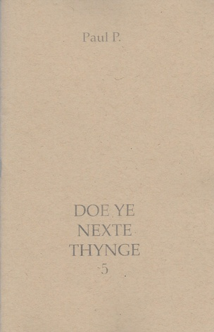 Doe Ye Nexte Thynge 5