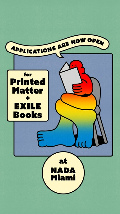 Printed Matter and EXILE Books at NADA Miami