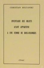 Inventaire Des Objets Ayant Appartenu a Une Femme de Bois-Colombes