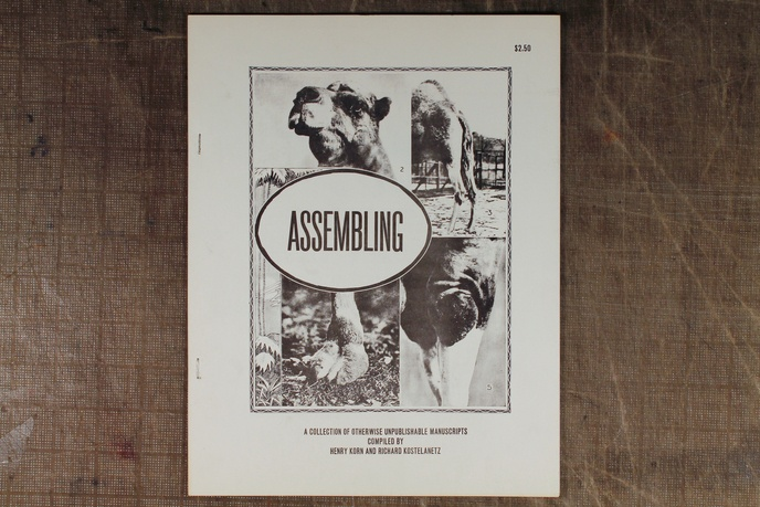 Assembling : A Collection of Otherwise Unpublishable Manuscripts
