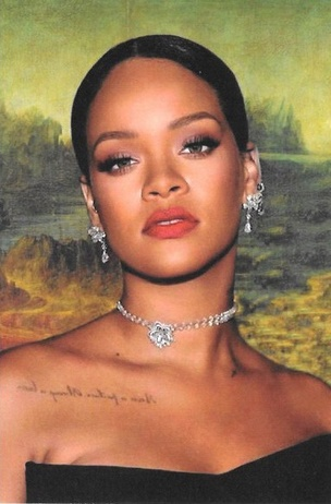 Rihanna Lisa Vol. 2 Postcard