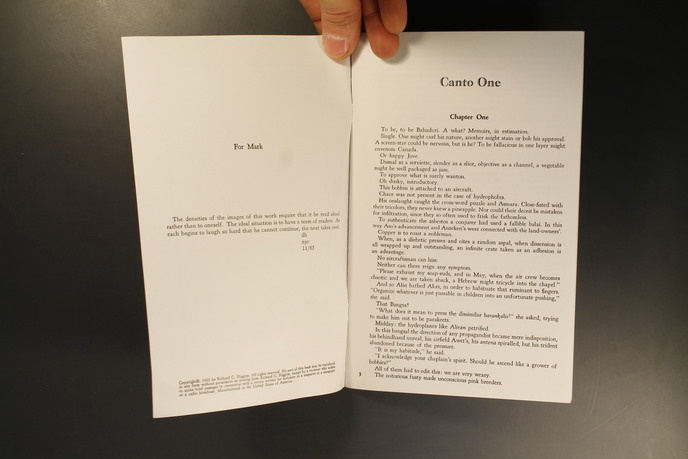 A Book About Love & War & Death : Canto One thumbnail 3
