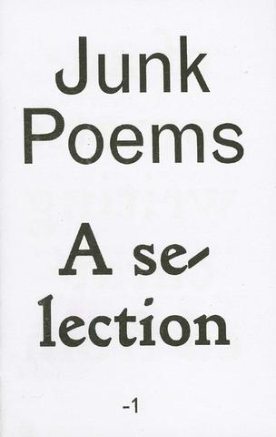 Junk Poems