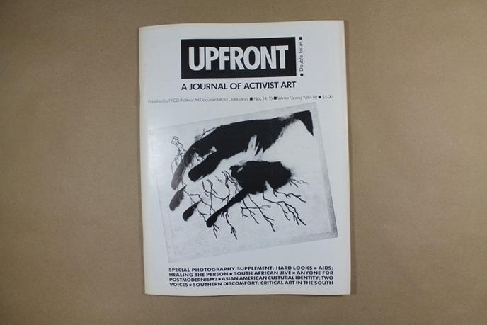 Upfront : A Journal of Activist Art