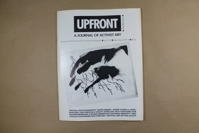 Upfront : A Journal of Activist Art
