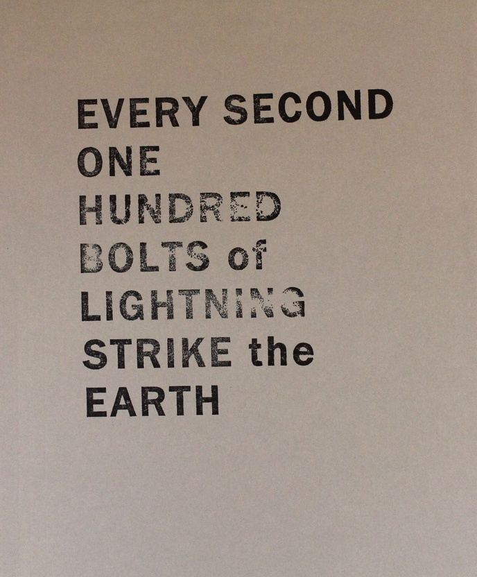 Every Second One Hundred Bolts of Lightning Strike the Earth