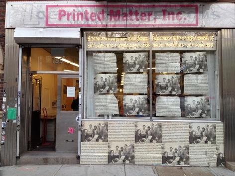 Garry Neill Kennedy at Printed Matter