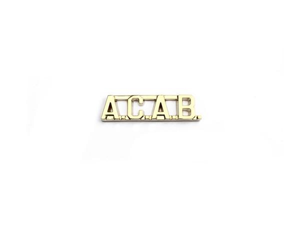 A.C.A.B. Pin + Killer Breed Zine