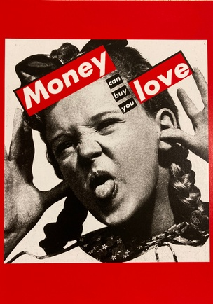 Money Can Buy You Love Postcard
