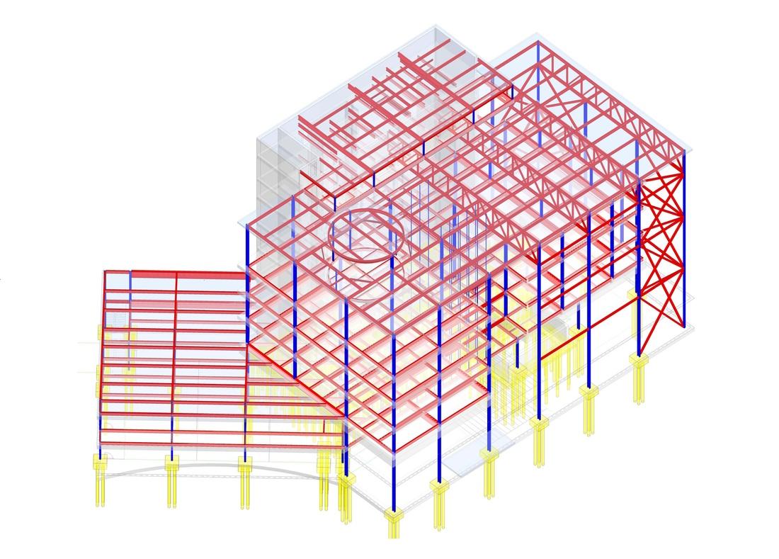 Structural diagram.
