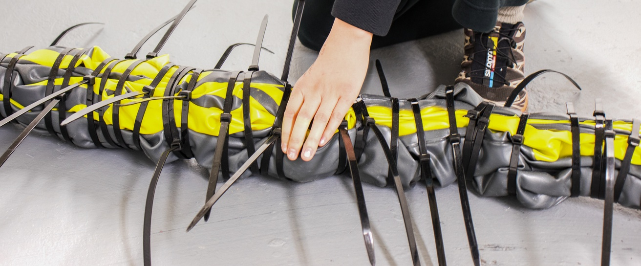 Untitled (Inflatable Kayak, Zip Ties) thumbnail 3