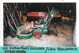 24 Suburban Suicides Postcard Set