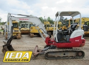 Used 2015 Takeuchi TB240 For Sale