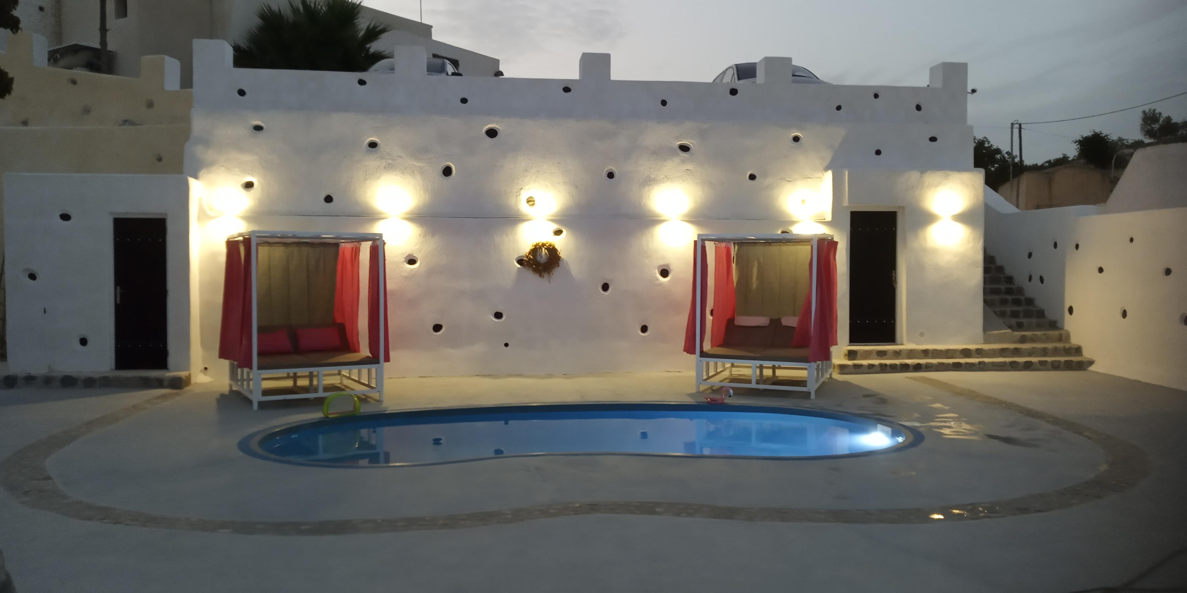 Santorini Seaview Retreat- Aegean Terrace with Pool