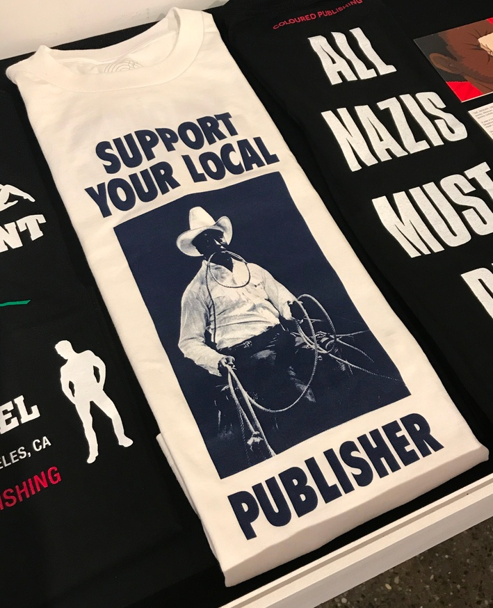 a10b38d73e931d Support Your Local Publisher T-Shirt  Large  Coloured Publishing Apparel   T -shirts  30.00