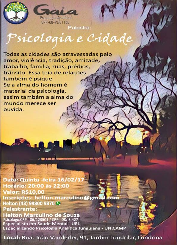 Psicologia e Cidade