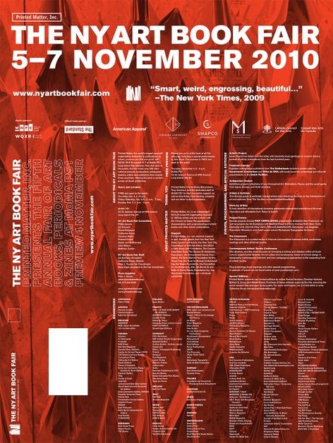 Printed Matter's 2010 NY Art Book Fair