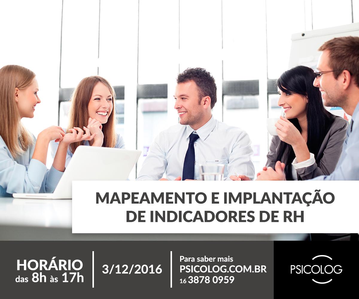Mapeamento e implantação de indicadores de RH