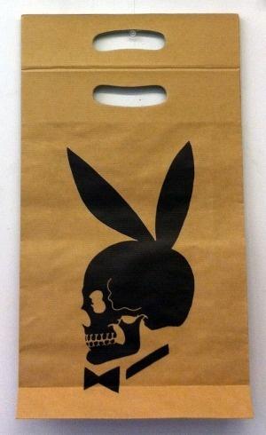 Skull Bunny Shopping Bag, 1991