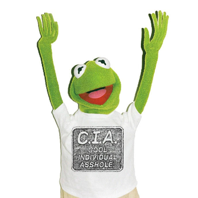 C.I.A. Bootleg T-Shirt [S,M, L, XL, XXL]