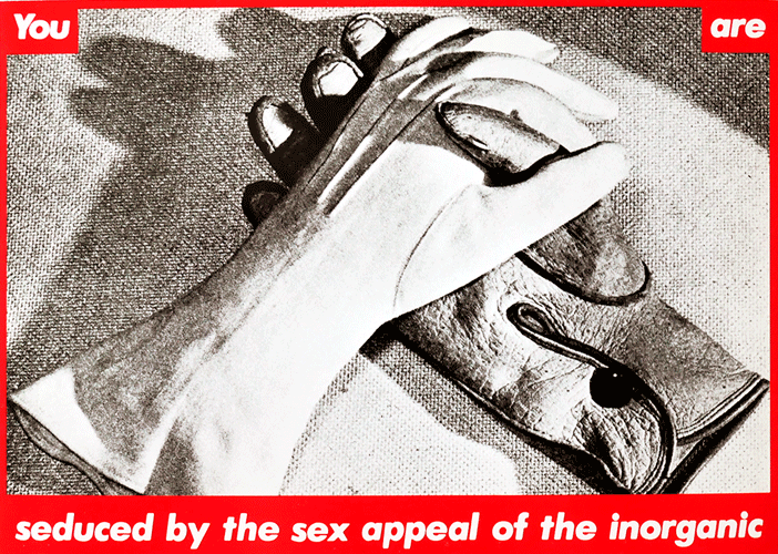 You Are Seduced By The Sex Appeal Of The Inorganic Postcard