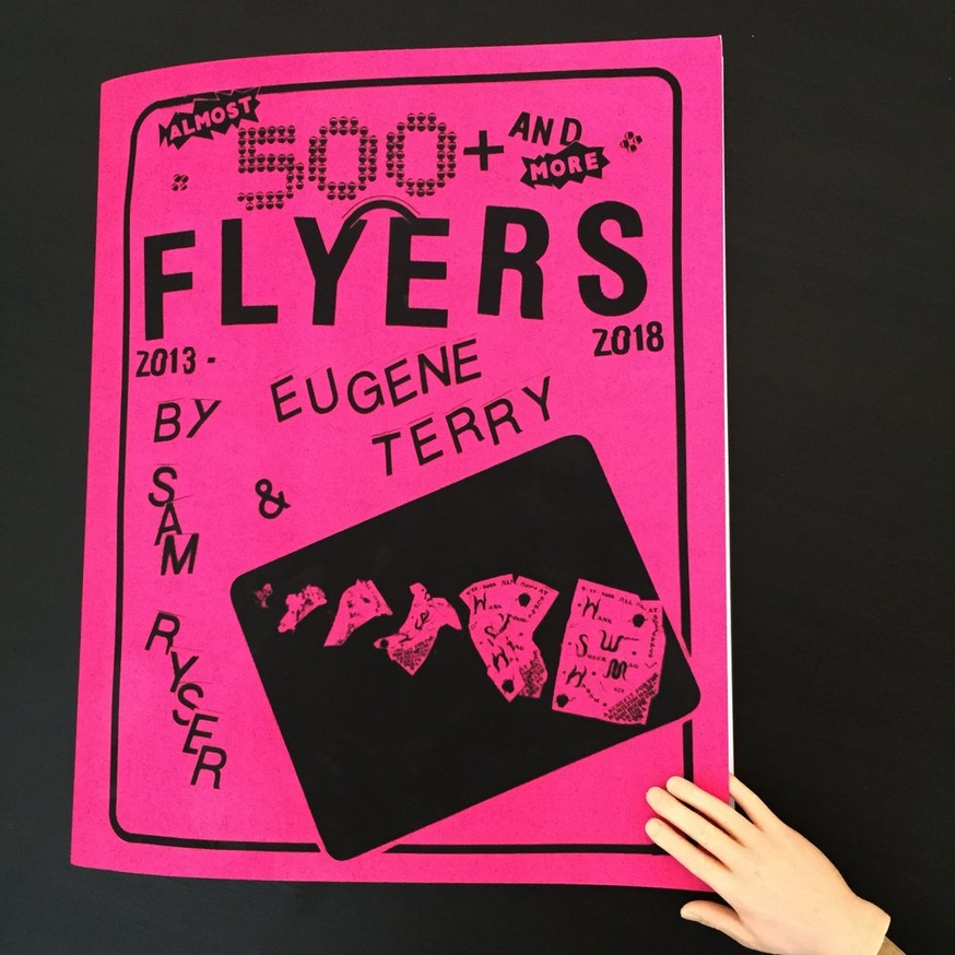 ALMOST 500 + AND MORE FLYERS 2013-2018