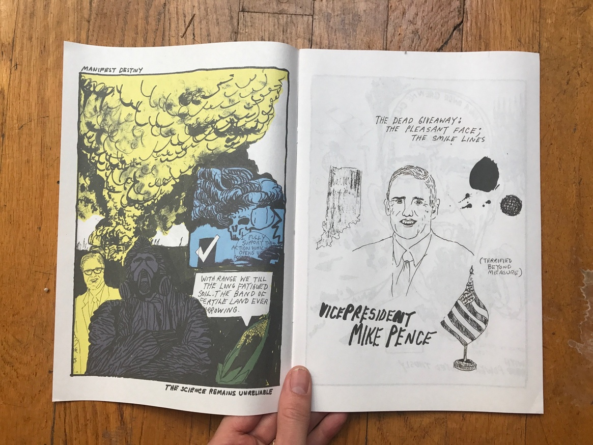 Bullseye Comics #1: The Black Hand Guide You thumbnail 2