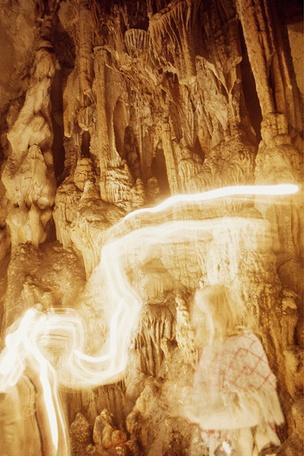 Nerja Caves, Spain, March 1971
