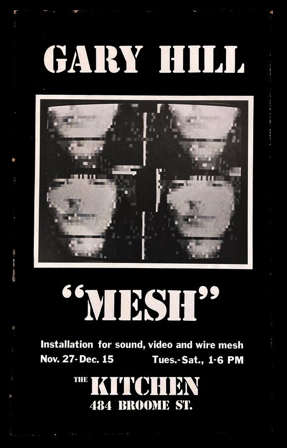 Mesh, November 27-Dec 15, 1979 [The Kitchen Posters]