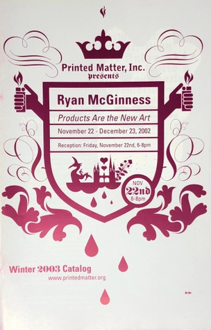 Printed Matter, Inc. Winter 2003 Catalog