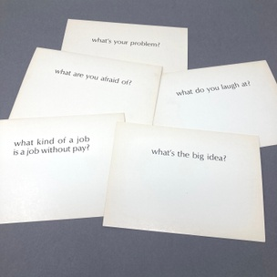 Ample Food for Stupid Thought: What? (Set of 5 Random Cards)